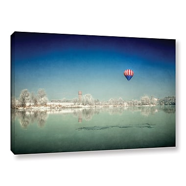 Varick Gallery Winter Dream Photographic Print on Wrapped Canvas; 24'' H x 36'' W
