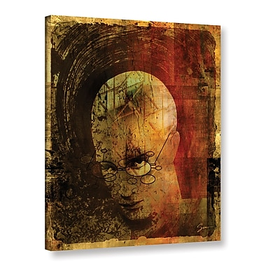 Varick Gallery Metro Brain Graphic Art on Wrapped Canvas; 48'' H x 36'' W