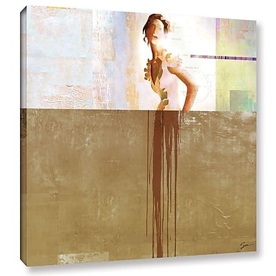 Varick Gallery Dissolve III Painting Print on Wrapped Canvas; 10'' H 10'' W
