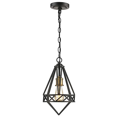 Varick Gallery Rochon 1-Light Mini Pendant; 86'' H x 8'' W x 8'' D