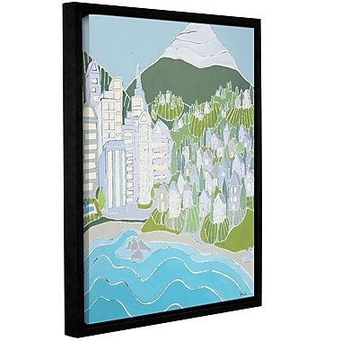 Varick Gallery Urban Village Framed Painting Print on Wrapped Canvas; 48'' H x 36'' W x 2'' D