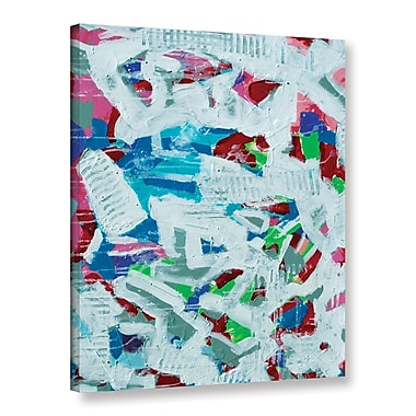 Varick Gallery 'Texture' Painting Print on Wrapped Canvas; 32'' H x 24'' W x 2'' D