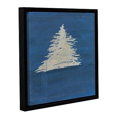 Varick Gallery 'Tree' Framed Painting Print on Wrapped Canvas; 24'' H x 24'' W x 2'' D