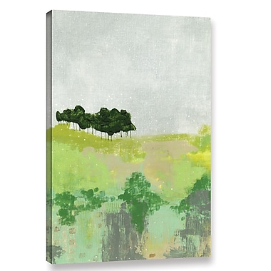 Varick Gallery 'Trees' Painting Print on Wrapped Canvas; 24'' H x 16'' W x 2'' D