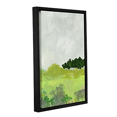 Varick Gallery 'Trees' 2 Framed Painting Print on Wrapped Canvas; 24'' H x 16'' W x 2'' D