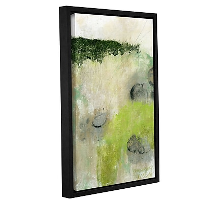 Varick Gallery 'Rocks' Framed Painting Print on Wrapped Canvas; 18'' H x 12'' W x 2'' D