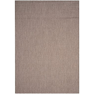 Varick Gallery Jefferson Place Light Brown/Light Gray Outdoor Area Rug; 2' x 3'7''