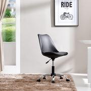 Varick Gallery Bergen Beach Desk Chair; Black