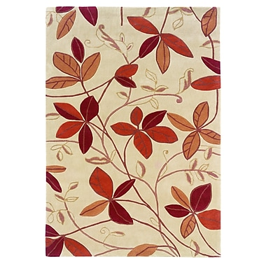 Varick Gallery Askins Hand-Tufted Tan Area Rug; 1'10'' x 2'10''