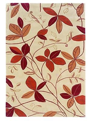 Varick Gallery Askins Hand-Tufted Tan Area Rug; 8' x 10'