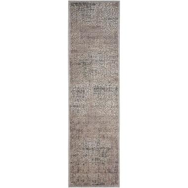 Varick Gallery Simms Gray Area Rug; 2' x 5'9''