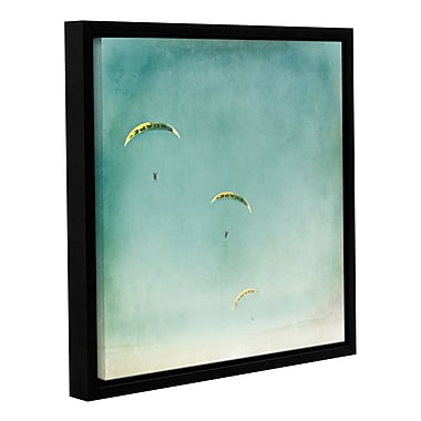 Varick Gallery The Escape Framed Painting Print; 18'' H x 18'' W x 2'' D
