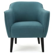 Varick Gallery Aurianna Club Chair; Dark Teal