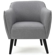 Varick Gallery Aurianna Club Chair; Gray