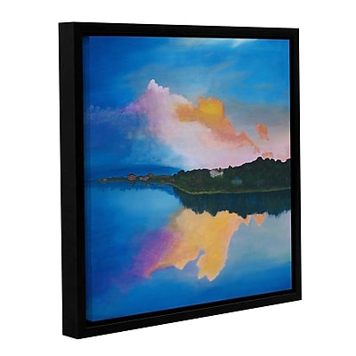 Varick Gallery Ambient Reflection Framed Painting Print; 36'' H x 36'' W x 2'' D