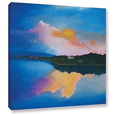 Varick Gallery Ambient Reflection Painting Print on Wrapped Canvas; 18'' H x 18'' W x 2'' D