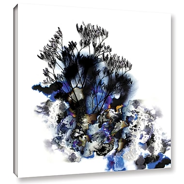 Varick Gallery Inklings I Graphic Art on Wrapped Canvas; 36'' H x 36'' W x 2'' D