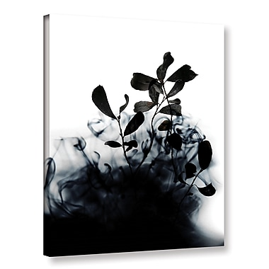 Varick Gallery Smoke Without Fire II Graphic Art on Wrapped Canvas; 32'' H x 24'' W x 2'' D