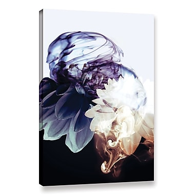 Varick Gallery Smoke Without Fire IV Graphic Art on Wrapped Canvas; 18'' H x 12'' W x 2'' D