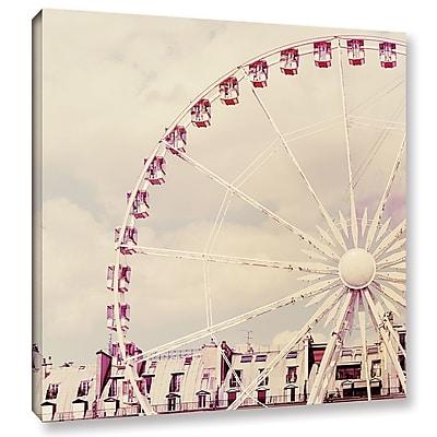 Varick Gallery Paris Parfait Photographic Print on Wrapped Canvas; 18'' H x 18'' W x 2'' D