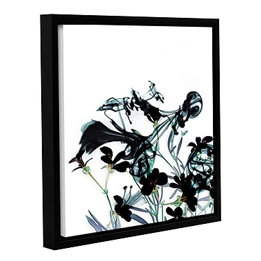 Varick Gallery Smoke Without Fire I Framed Graphic Art; 14'' H x 14'' W x 2'' D