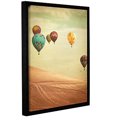 Varick Gallery Wanderers Framed Graphic Art; 10'' H x 8'' W x 2'' D
