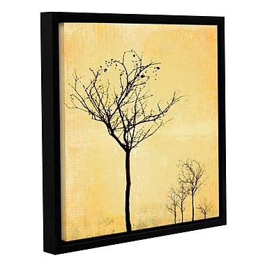 Varick Gallery 'Adajio' by Sia Aryai Framed Graphic Art; 18'' H x 18'' W x 2'' D