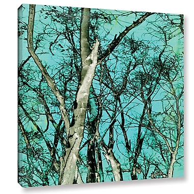 Varick Gallery 'Midori 3' by Sia Aryai Graphic Art on Wrapped Canvas; 10'' H x 10'' W x 2'' D