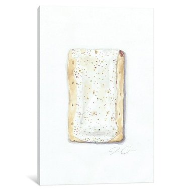 Varick Gallery Strawberry Pop-Tart Painting Print on Wrapped Canvas; 60'' H x 40'' W x 1.5'' D
