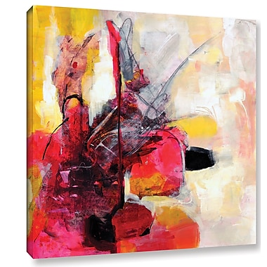 Varick Gallery 'Off Balance' by Sia Aryai Painting Print on Wrapped Canvas; 18'' H x 18'' W x 2'' D