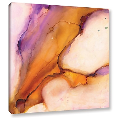 Varick Gallery 'Modern Bucranium' by Sia Aryai Painting Print on Wrapped Canvas