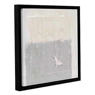 Varick Gallery 'Rhyme I' by Sia Aryai Framed Painting Print ; 14'' H x 14'' W x 2'' D