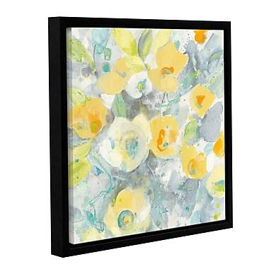 Varick Gallery 'Buttercups II' by Albena Hristova Framed Painting Print; 18'' H x 18'' W x 2'' D