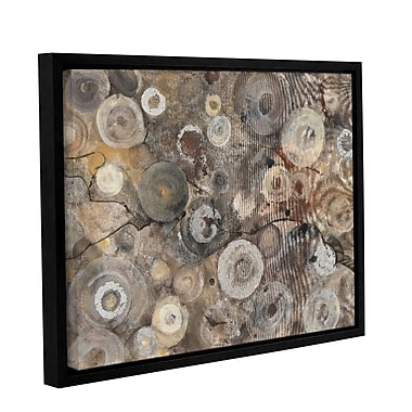 Varick Gallery 'Agate' by Albena Hristova Framed Graphic? Art; 36'' H x 48'' W x 2'' D