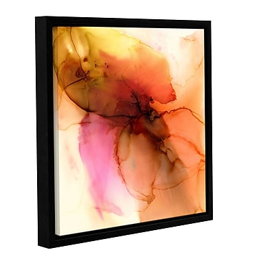 Varick Gallery 'What's Inside' by Donna Weathers Framed Graphic? Art; 24'' H x 24'' W x 2'' D