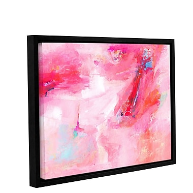 Varick Gallery 'While She Dances' by Donna Weathers Framed Painting Print ; 18'' H x 24'' W x 2'' D