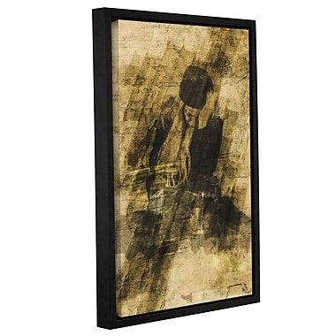 Varick Gallery 'Beautiful Disaster' by Scott Medwetz Framed Graphic Art Wrapped on Canvas