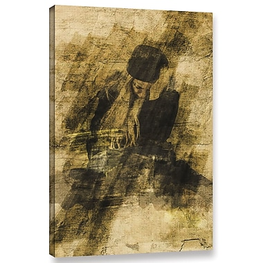 Varick Gallery Beautiful Disaster Graphic Art on Wrapped Canvas; 48'' H x 32'' W x 2'' D