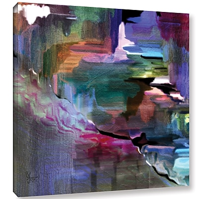 Varick Gallery Untilted Paining Print on Wrapped Canvas; 18'' H x 18'' W x 2'' D
