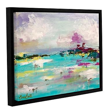 Varick Gallery Landscape 2 Framed Painting Print; 24'' H x 32'' W x 2'' D
