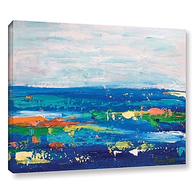 Varick Gallery 'Landscape' by Emma Bell 4 Painting Print on Wrapped Canvas; 24'' H x 32'' W x 2'' D
