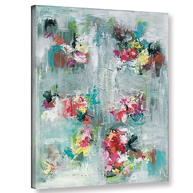 Varick Gallery Emerging Blossom Painting Print on Wrapped Canvas; 18'' H x 14'' W x 2'' D