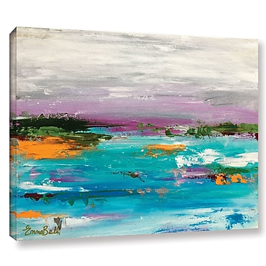 Varick Gallery Landscape 1 Painting Print on Wrapped Canvas; 8'' H x 10'' W x 2'' D