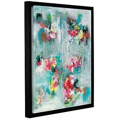 Varick Gallery Emerging Blossom Framed Painting Print; 10'' H x 8'' W x 2'' D