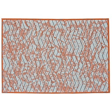 Varick Gallery Haire Nectarine Area Rug; 2'2'' x 4'