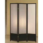 Varick Gallery Halina 70'' x 52'' 3 Panel Room Divider