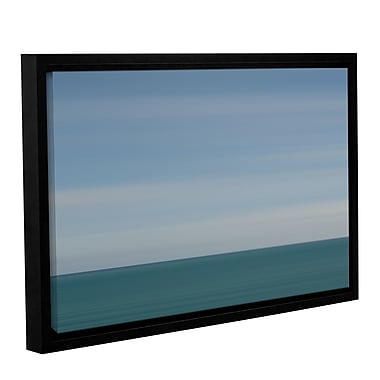 Varick Gallery Gulf of Thailand Framed Graphic Art; 16'' H x 24'' W x 2'' D