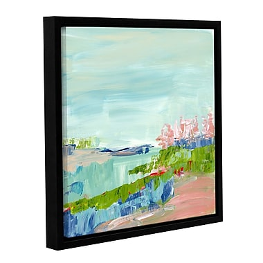 Varick Gallery Abstract Glimpse Framed Painting Print; 14'' H x 14'' W x 2'' D