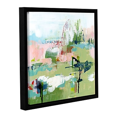 Varick Gallery Presence Abstract Framed Painting Print; 14'' H x 14'' W x 2'' D