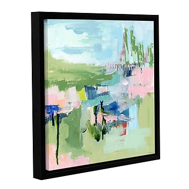 Varick Gallery Intuition Abstract Framed Painting Print; 10'' H x 10'' W x 2'' D